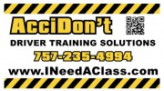 AcciDon't Driver Training Solutions