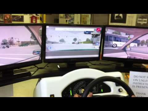 Nicastro's Driving School driver's education simulator